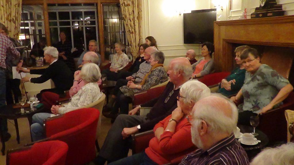 Sat. entertainment - audience