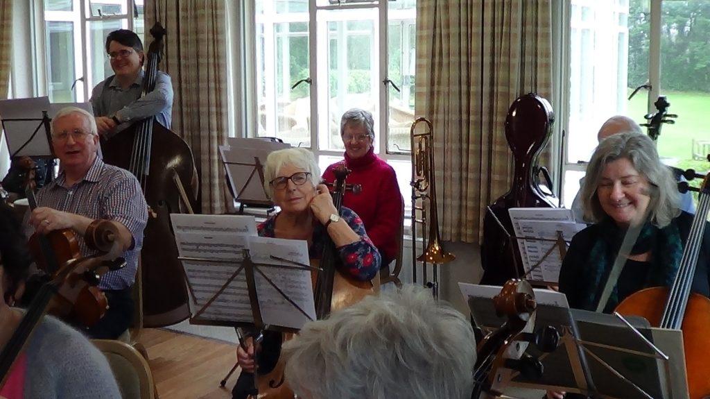 Rehearsal - cellos